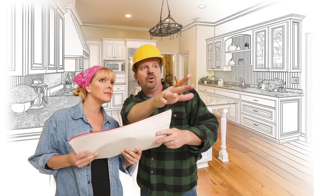 Renovation de maison ou de condo neuf entrepreneur et client