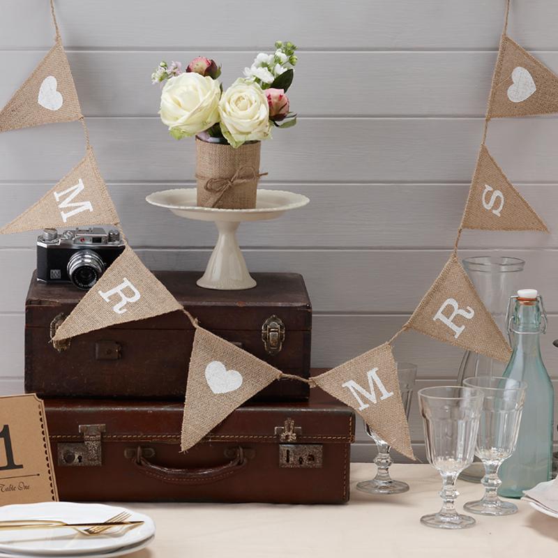 decoration-mariage-vintage-toile-de jute-ardoise