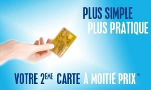 tarif e carte bleue banque populaire
