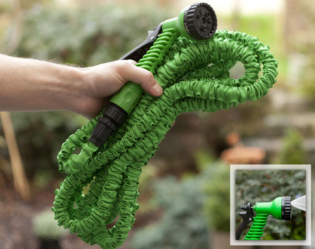 Utilisez votre tuyau d'arrosage extensible