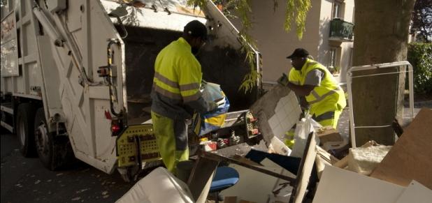 débarrasser des déchets encombrants