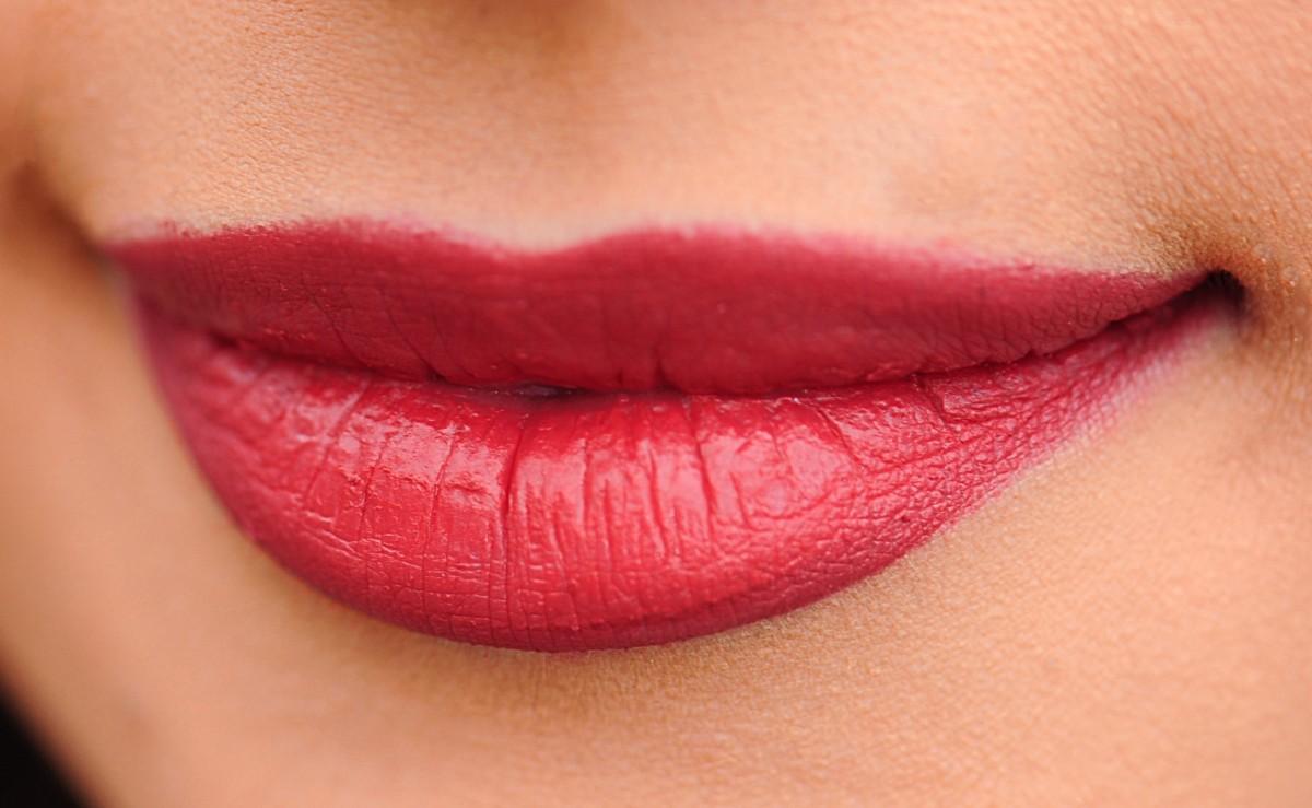 contour lèvres