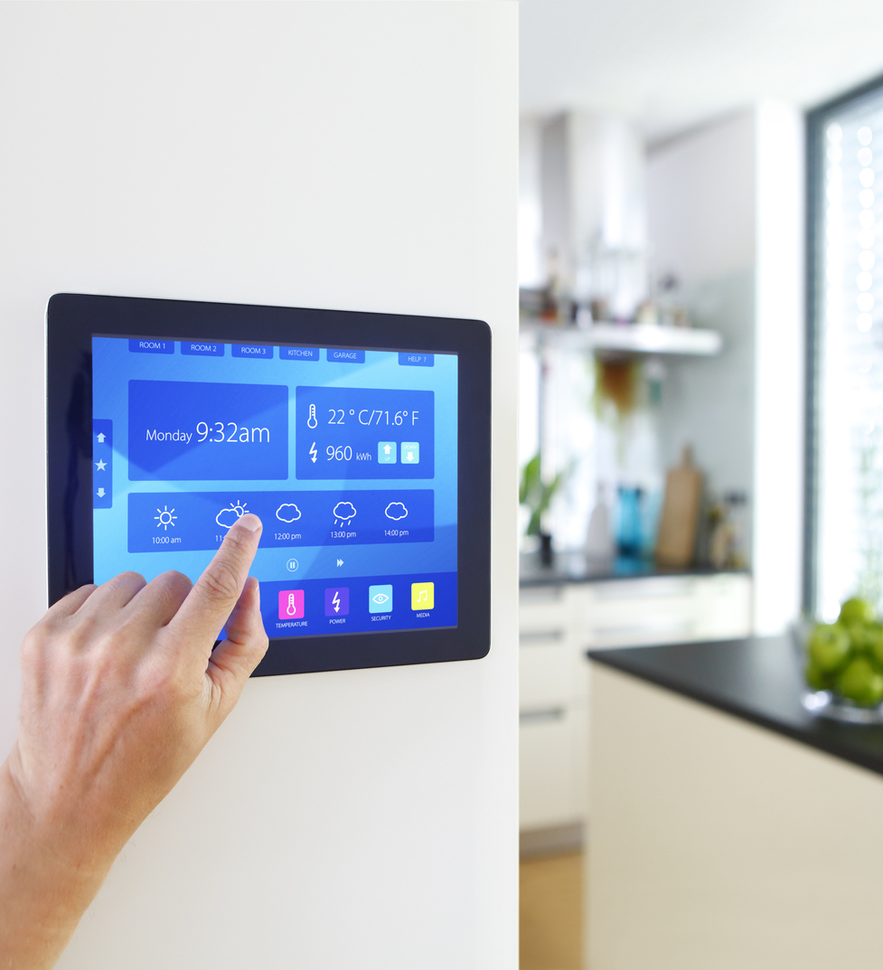 Home automation in the modern house