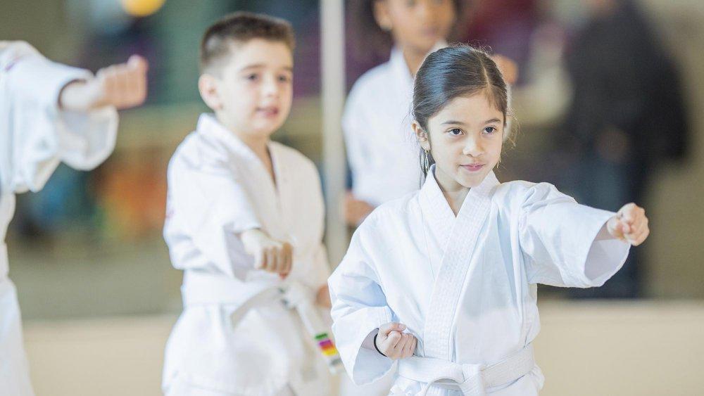 sport de combat pour un enfant