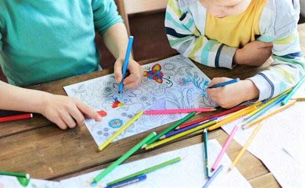 Le coloriage une activité pour tous